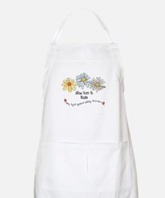 Allow Lives to Bloom BBQ Apron