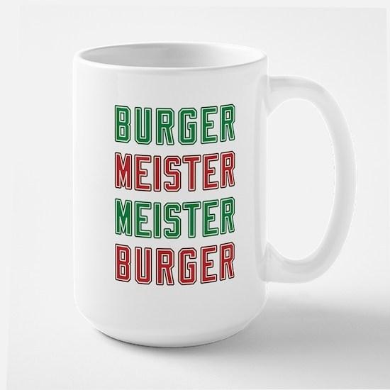 Burger Meister Meister Burger Large Mug
