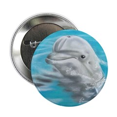 """Dolphin 2.25"""" Button (10 pack)"""