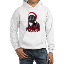 Christmas Newf puppy Hoodie