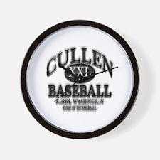 Cullen Baseball Team Shirt Gi Wall Clock