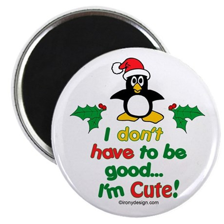 I'm Cute! Penguin Magnet