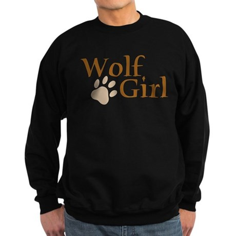 Wolf Girl Sweatshirt (dark)