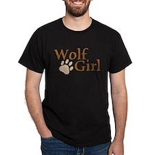 Wolf Girl Dark T-Shirt
