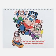 Funny Comics cartoons Wall Calendar