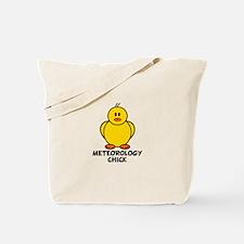 Meteorology Chick Tote Bag