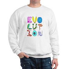evolution animals Sweatshirt