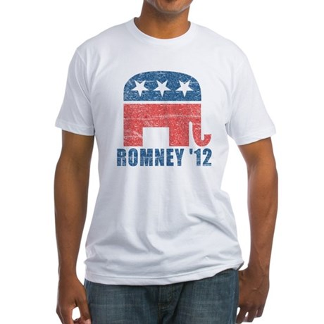Romney 2012 Fitted T-Shirt