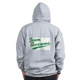 Team awesome Zip Hoodie