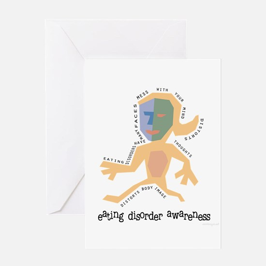 Distorted Greeting Card