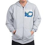 Electro-Fish Zip Hoodie