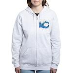 Electro-Fish Women's Zip Hoodie