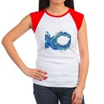 Electro-Fish Women's Cap Sleeve T-Shirt