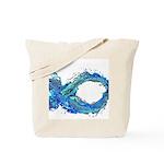 Electro-Fish Tote Bag