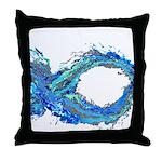 Electro-Fish Throw Pillow