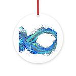 Electro-Fish Ornament (Round)