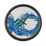 Electro-Fish Large Wall Clock