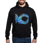 Electro-Fish Hoodie (dark)
