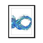 Electro-Fish Framed Panel Print