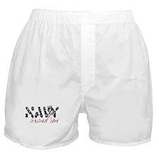 Navy Grandson Boxer Shorts