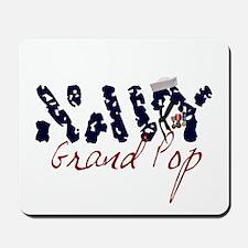Navy Grand Pop Mousepad