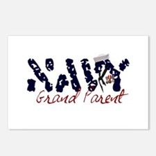 Navy Grandparent Postcards (Package of 8)