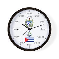 Cuban Masons Wall Clock