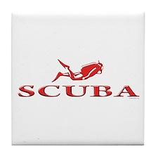 SCUBA Dive Tile Coaster