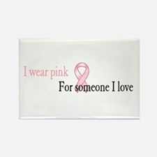 Cute Stand up 2 cancer Rectangle Magnet