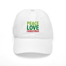 Peace Love Christmas Cap