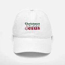 Christmas about Jesus Baseball Baseball Cap