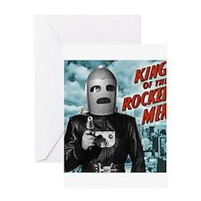 King of the Rocket Men Greeting Card