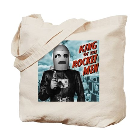 King of the Rocket Men Tote Bag