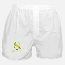 Running Border Collie Boxer Shorts