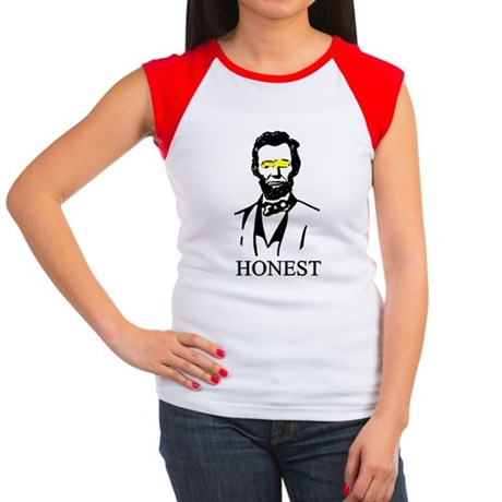 Abe Honest Women's Cap Sleeve T-Shirt