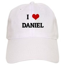 I Love DANIEL Baseball Cap