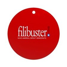Filibuster! Ornament (Round)