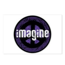 Imagine Peace Vintage Postcards (Package of 8)