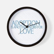 adoption clocks adoption wall clocks large modern kitchen clocks. Black Bedroom Furniture Sets. Home Design Ideas