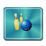 Bowling mouse pad Classic Mousepad