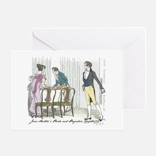 Pride and Prejudice Ch 54 Greeting Card