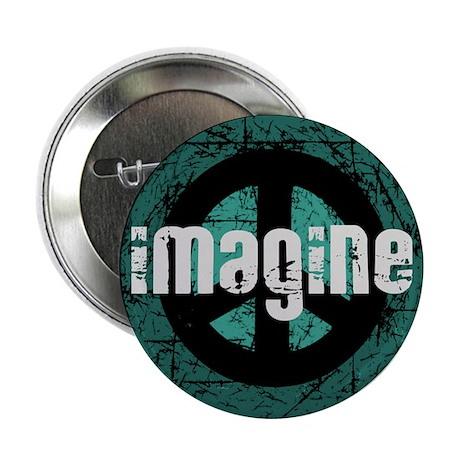 """Imagine Peace Vintage 2.25"""" Button (100 pack)"""