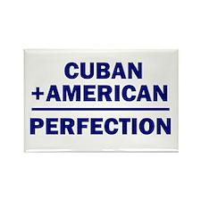 Cuban American Rectangle Magnet