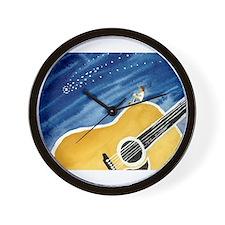 Acoustic Guitar Dream Wall Clock