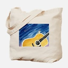 Acoustic Guitar Dream Tote Bag