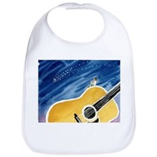 Acoustic Guitar Dream Bib