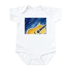 Acoustic Guitar Dream Infant Bodysuit