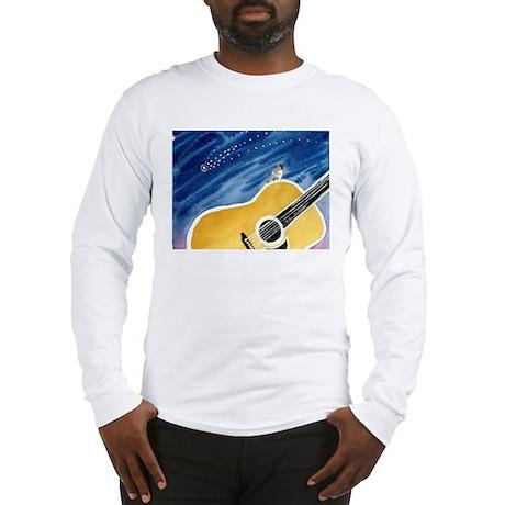 Acoustic Guitar Dream Long Sleeve T-Shirt