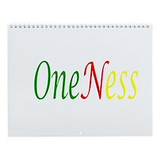 Oneness Wall Calendar