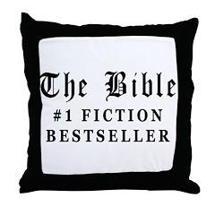 The Bible Fiction Bestseller Throw Pillow